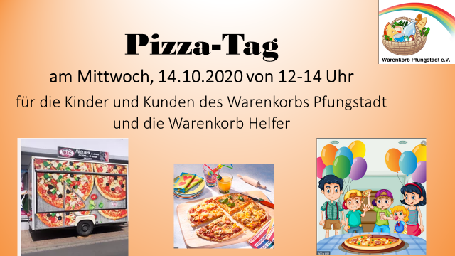 Pizza Tag am 14.10.2020